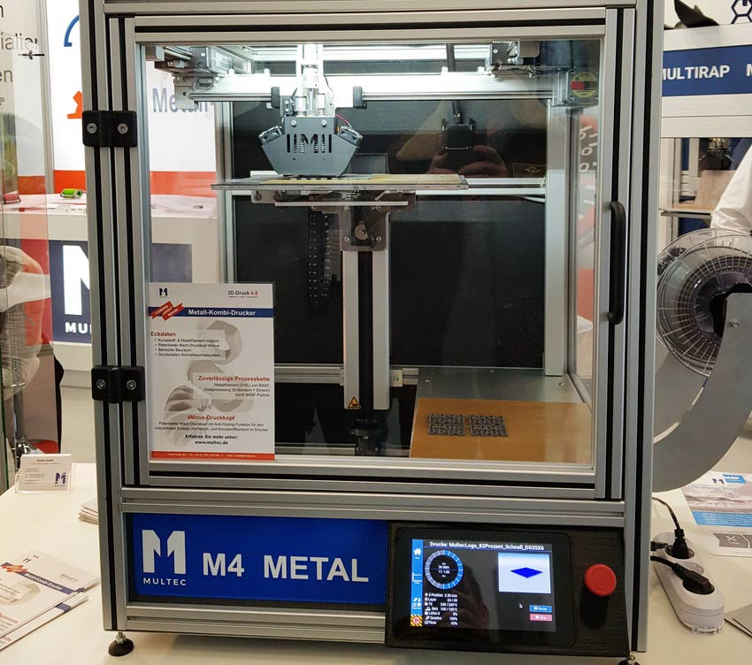 Multec Multirap M4 Metal with Repetier-Server